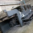 Foto Stock: Offset machine equipment