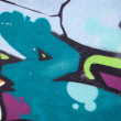 Colorful urban graffiti background — Stock Photo #5985755