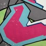 Colorful urban graffiti background — Stock Photo #5985763