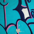 Colorful urban graffiti background — Stock Photo #5985773