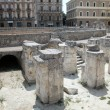 Roman theater in Lecce, Italy - Stock Photo