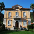 Italian villa and park - Stock Photo