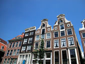 Houses in Amsterdam — Stock Photo
