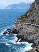 Love road in Cinque Terre, Italy — Stock Photo