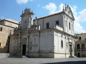 Kathedrale in lecce, italien — Stockfoto