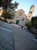 St. Andrea church, Levanto — Stockfoto