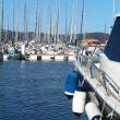 Sailboat marina — Foto Stock