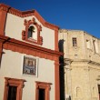 Stock Photo: Churches in old town of Gallipoli, Apulia, Italy