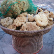Natural sponges - Foto Stock
