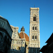 Cathedral and Giotto bell tower in Florence — Stock Photo