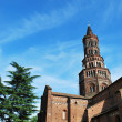 Chiaravalle abbey in Milan - Stock Photo