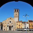 Foto Stock: Romanic cathedral in Lodi, Italy