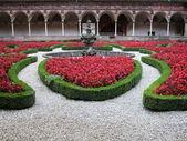 Certosa di pavia, Itálie — Stock fotografie