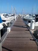 Plachetnice marina — Stock fotografie