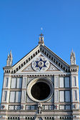 Santa Croce church in Florence, Italy — 图库照片