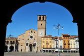 Romaanse kathedraal in lodi, italië — Stockfoto