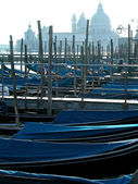 Gondola boats in Venice — Foto Stock