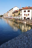 Naviglio in Milan, Italy — Stock Photo