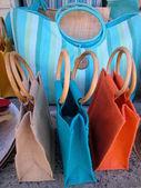 Красочные сумки — Стоковое фото