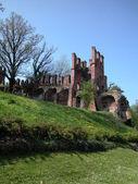 Ortaçağ kalesi — Stok fotoğraf