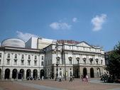 Scala theatre in Milan, Italy — Stock Photo