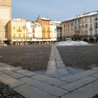Cathedral square, Lodi, Italy — Stock Photo