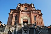 Baroque church — Stock Photo