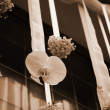 Wedding flowers decoration — Stock Photo