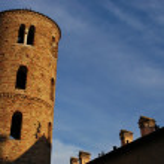 Round tower, Ravenna, Italy — Stock Photo #6522948