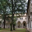 Stock Photo: St. Vitale basilicchurch cloister