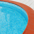 Swimming pool detail — Foto Stock