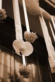 Wedding flowers decoration — Foto Stock