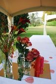 Wedding gazebo — Photo