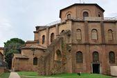 Esterno chiesa di san vitale basilica — Foto Stock