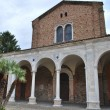 St. Apollinare Nuovo church — Stock Photo