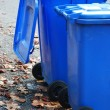 Foto de Stock  : Garbage cans