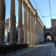 St. Lorenzo columns — Stock Photo