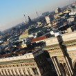 Panoramic view of Milan - Foto de Stock