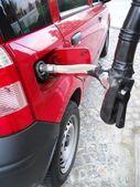 Metan yakıt otomobil — Foto de Stock