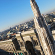 Panoramic view of Milan — Foto Stock