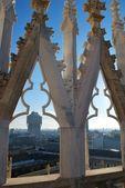 Panoramic view of Milan — Stock Photo