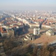 Aerial view of Milan - Stock Photo
