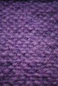 Violeta tejido textura de lana — Foto de Stock
