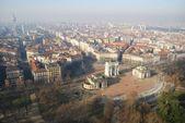 Milan havadan görünümü — Stok fotoğraf