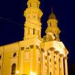 Greek Catholic Cathedral in Uzhhorod City — Stock Photo