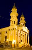 Catedral católica griega en la ciudad de uzhhorod — Stockfoto