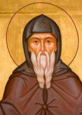 Orthodox religious icons fragment — Stock Photo