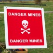 Stock Photo: Danger mines
