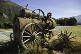Old steam machine — Stock Photo
