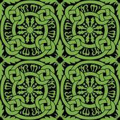 Celtic Knot Tile Pattern — Stock Vector